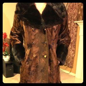Genuine fur coat